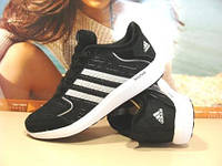 Кроссовки женские Adidas Bounce (адидас) черные 36 р.