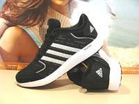 Кроссовки женские Adidas Bounce (реплика) черные 37 р.