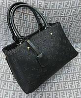 Модная сумка Louis Vuitton Louis Vuitton мини эко-кожа черная