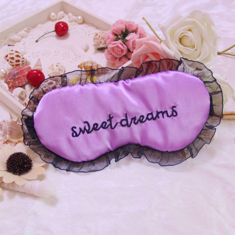 Маска для сна Sweet dreams purple