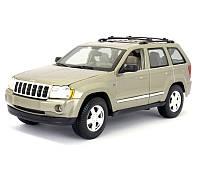 Автомодель Maisto 1:18 Jeep Grand Cherokee Бежевый (31119 lt. khaki), фото 1