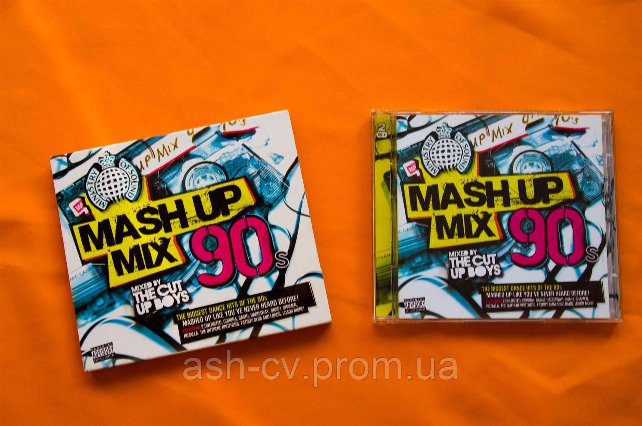 Музыкальный CD диск  MASH UP MIX 90s (2cd)