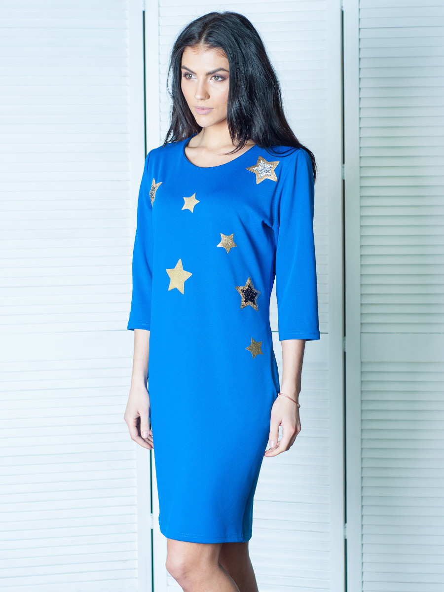 Модне жіноче плаття з кишенями Диско