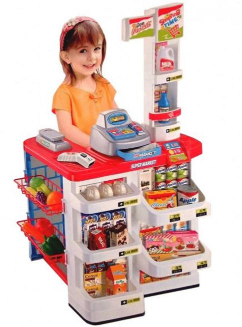 Игровой набор «Супермаркет с тележкой» 668-01-03