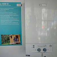 Газовый котел Bosch Gaz 4000 W ZWA 24-2 K двухконтурный, дымоход