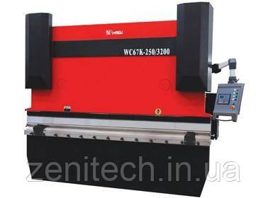 Гибочные пресса Yangli серии WC67K  с контроллером на 2 оси (Х+Y) ESTUN E200