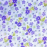 Ткань легкий коттон принт (Полевой цветок)