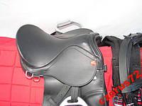 Седло для лошади конкурное 10 C + стремена + чепрак + вожжи