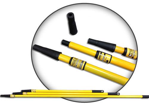 Ручка телескопическая 1 м - 2 м для валика HTtools