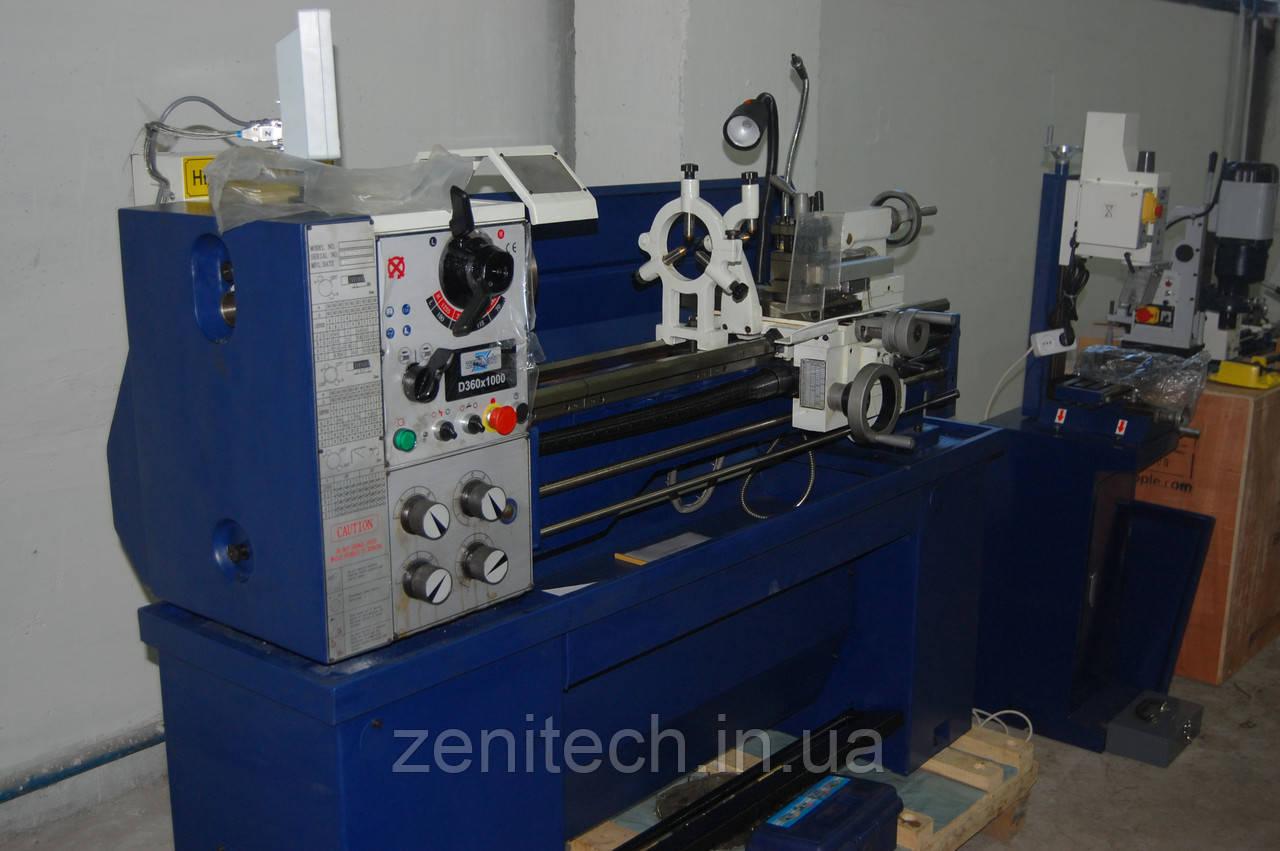 Токарный станок по металлу Zenitech MD360х1000