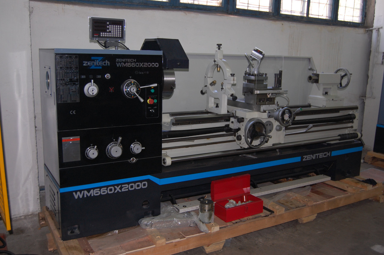 Токарный станок по металлу Zenitech WM 500(Аналог (Аналог16к20, 1м63 2000)