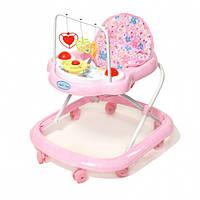 Ходунки Baby Tilly 348-3, розовые
