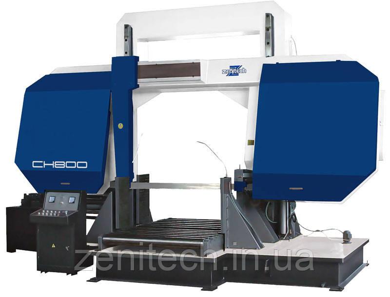 Двухколонный ленточнопильный станок Zenitech CH800