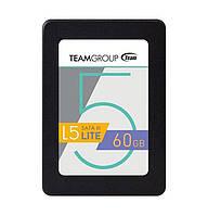 SSD 60Gb, Team L5 Lite, SATA3, 2.5', MLC, 500/300 MB/s (T2535T060G0C101)