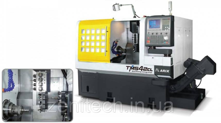Токарно-фрезерный центр с ЧПУ Arix TMS42CL