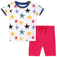Летняя пижама для мальчика Little Maven Звезды (р.1,2,3,4,5,6 лет)