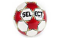 Мяч футбольный №4 SELECT (Campo NEW) (белый-красный)