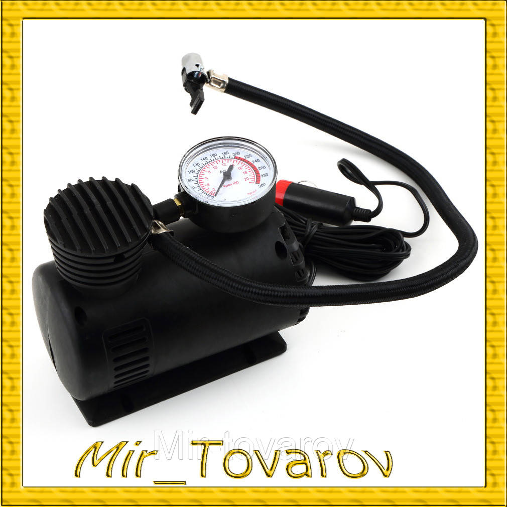Автомобильный компрессор для подкачки шин Air Pomp Ji030  - Mir-tovarov в Днепре
