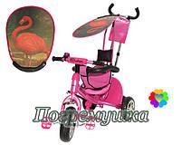 Детский трехколесный велосипед Trike Safari - Flamingo