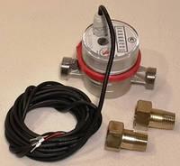 Электронный счётчик воды (расходомер) Primex73