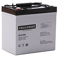 Свинцово-кислотный аккумулятор CHALLENGER A12-55