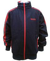 Wanex Спортивная кофта для мальчика р122-164 синий/красный