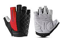 Перчатки RockBros Spyder, черно-красные, M