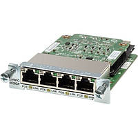 Модуль Four port 10/100 Ethernet switch interface card (HWIC-4ESW)