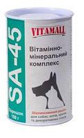 VitamAll SA-45 витаминно-минеральный комплекс для собак, кошек, грызунов и птиц 150 гр