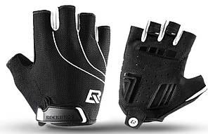Перчатки RockBros Spyder, черные, L