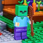 "Конструктор Lepin Minecraft 18010 ""Деревня"" 1106 деталей, фото 2"