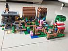 "Конструктор Lepin Minecraft 18010 ""Деревня"" 1106 деталей, фото 4"