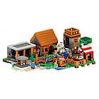 "Конструктор Lepin Minecraft 18010 ""Деревня"" 1106 деталей, фото 5"