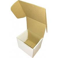 Коробка картонная (114х95х100), белая