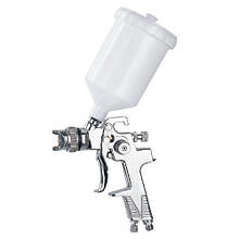 Краскопульт пневматический тип HVLP верхний пластиковый бачок AUARITA H-970P-1.4 (Италия/Китай)