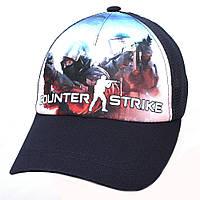 Детская бейсболка Counter Strike сетка