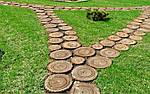 садовая дорожка из дерева (интересные статьи)