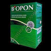 Биопон (Biopon) удобрение для газона со мхом 1кг