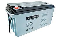 Свинцово-кислотный аккумулятор CHALLENGER A12-70