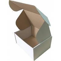 Коробка картонная (190x150x100), белая