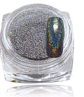Зеркальная пудра для ногтей с голографическим эффектом №10