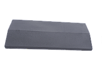 Плита на забор LAND BRICK серая 310х500 мм