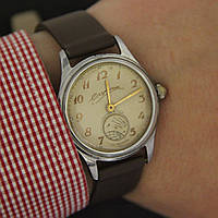 Спутник ГЧЗ Чистополь механические часы СССР 1959 год