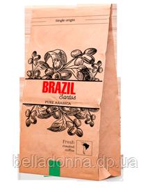 Кава в зернах моносорт Brazil Santos (Бразилія) 1000 г