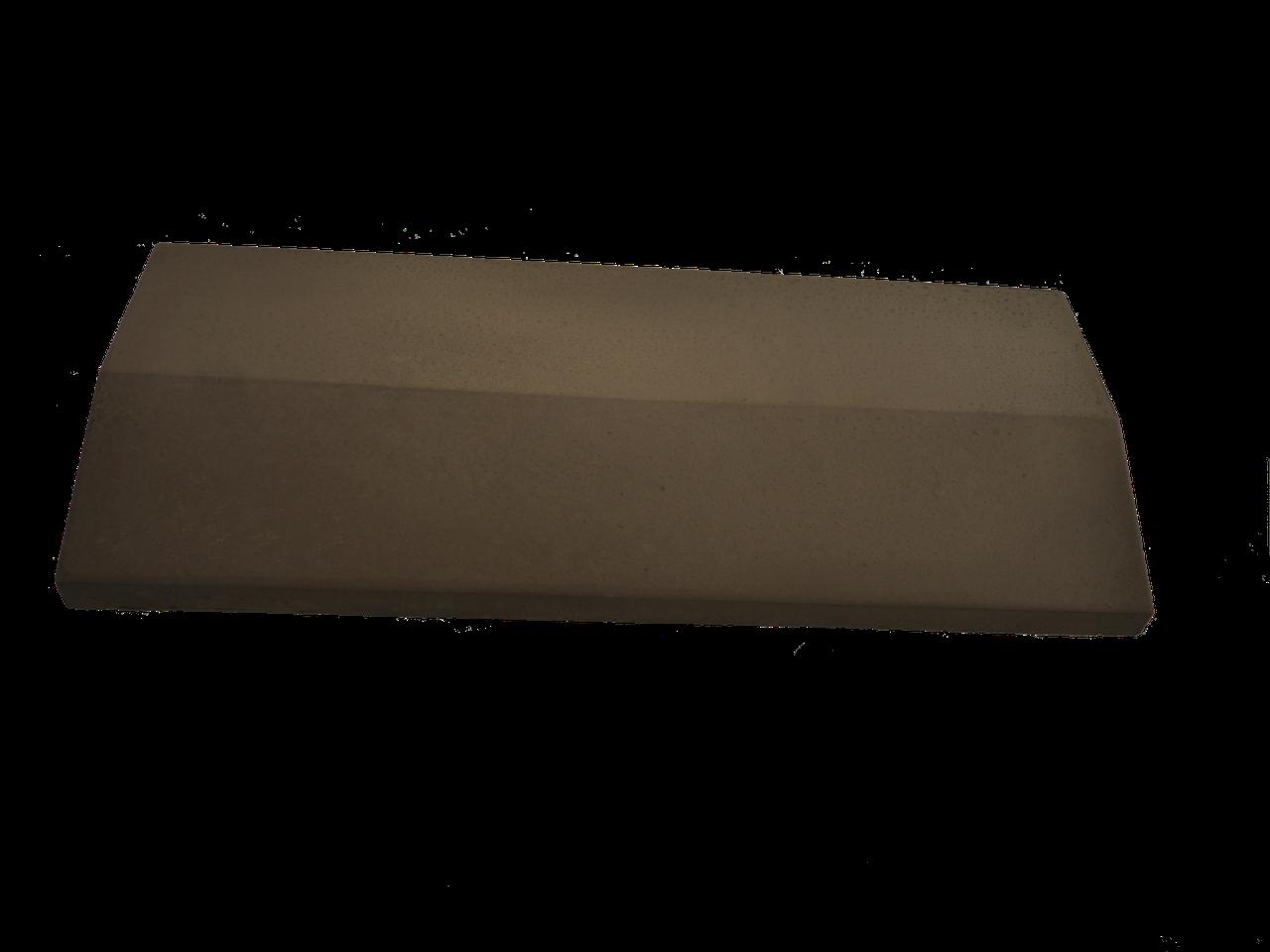 Плита на забор LAND BRICK коричневая 300х1000 мм