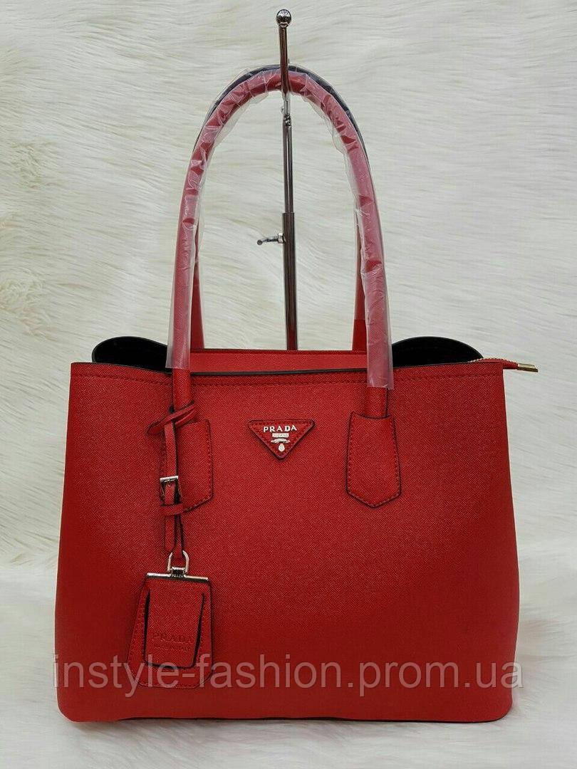 c500cbdd8af4 Сумка Prada Прада эко-кожа красная - Сумки брендовые, кошельки, очки,  женская