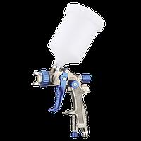 Краскопульт пневматический тип LVLP верхний пластиковый бачок AUARITA H-897-1.3 (Италия/Китай)