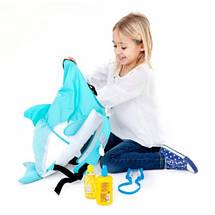 Рюкзак дитячий акула PaddlePak Дельфін Trunki TRUA-0103, фото 3