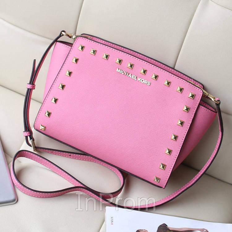 72755094a905 Сумка Michael Kors Selma Mini Light Pink - Интернет-магазин модных  аксессуаров в Киеве