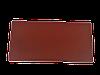 Цокольная крышка для забора LAND BRICK красная 110х400 мм